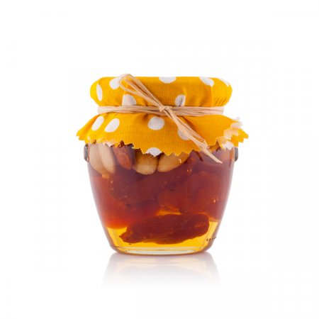 Honey with Apricots and Nuts