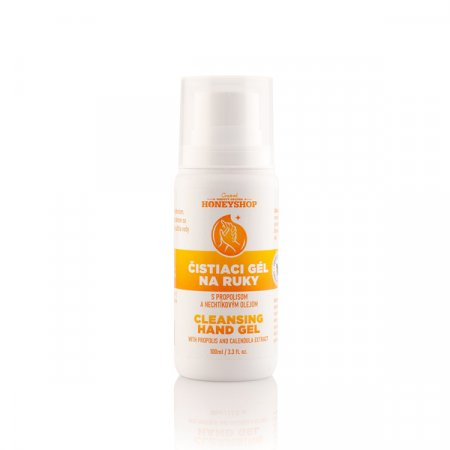 Cleansing hand gel with propolis and calendula extract 100ml