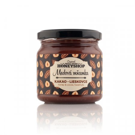Honey with Cocoa and Hazelnuts 250g