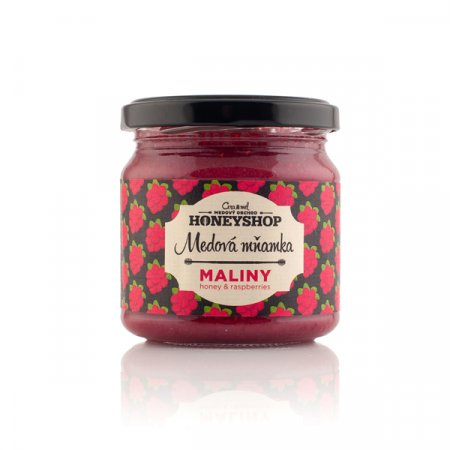 Honey with Raspberries 250g