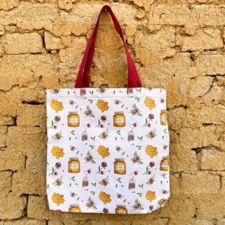 Bee bag - Colour: wine red