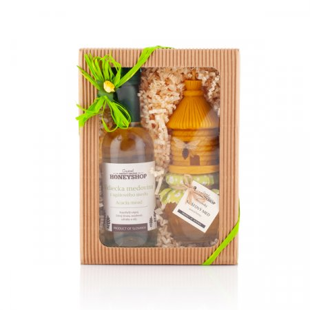 Green honey box