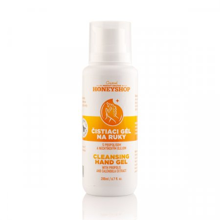Cleansing hand gel with propolis and calendula extract 200ml